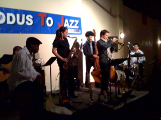 Live shot... Gabriel Alegria Sextet @ Exodus to Jazz