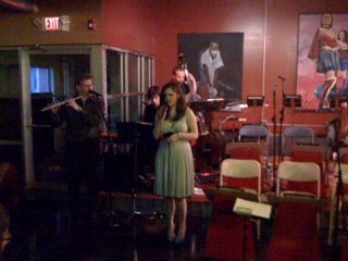 Madeline Forster  CD release party... Live shot