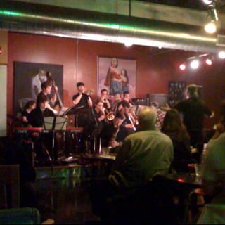 Dave Rivello Ensemble ... Live shot