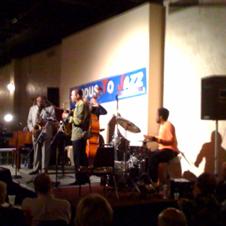 Eric Person & Meta-Four with Houston Person ... Live shot!