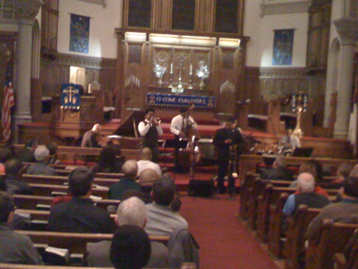 Live Shot: Wycliffe Gordon & Friends tearing it up at Reformation Lutheran Church