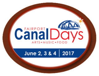 Fairport Canal Days 2017 logo